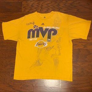 Adidas Kobe Bryant finals 2x MVP shirt